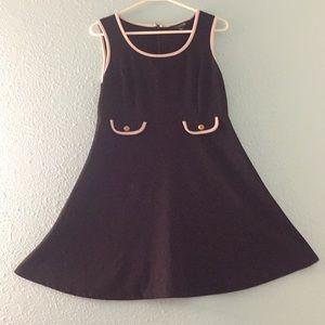 Forever 21 Mid-Length Black Dress